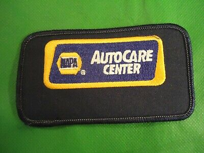 Napa Auto Care Center Uniform Logo Car Collision Shop Company Vest Hat Patch Q