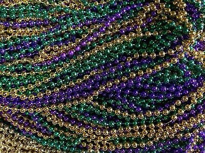 200 Mardi Gras Beads Necklaces Bulk Lot Party Favors Multi-color FREE SHIPPING