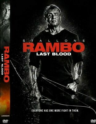 Rambo: Last Blood (DVD, 2019) Sylvester Stallone BRAND NEW - FREE SHIPPING