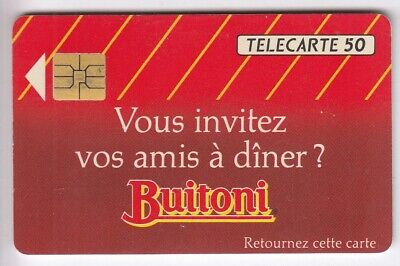Variete Telecarte France .. 50U F296 So3 Buitoni A Colle A2A6891 Ut/Tbe C.200€