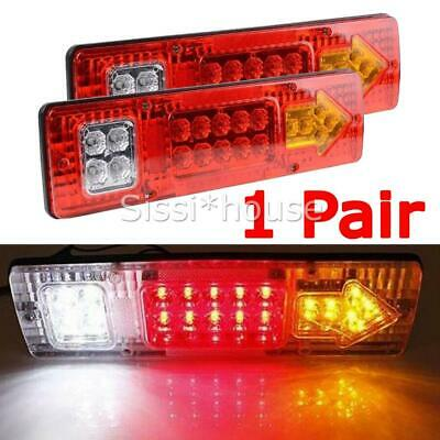 LED TRAILER TAIL LIGHTS TRUCK CARAVAN UTE BOAT LIGHT STOP INDICATOR Waterproof A