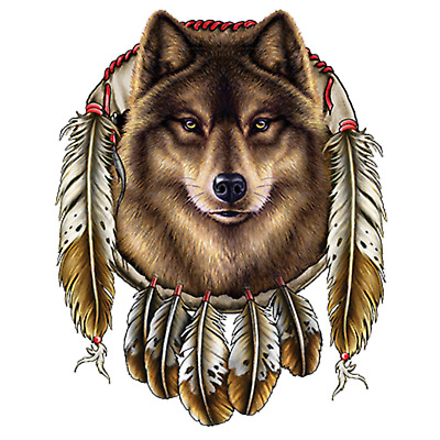Wolf Dreamcatcher Mens Tank Top Size Small to X Large  Pick Your Size