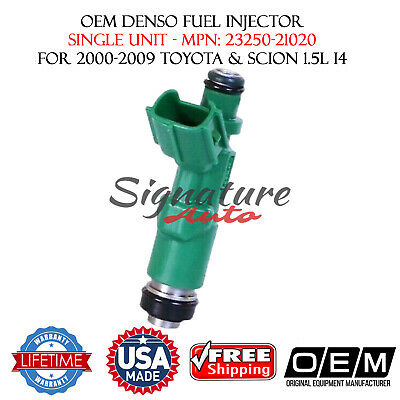 Toyota Prius 1.5L 2001-09 OEM DENSO P#23250-21020// 4unit re-man Fuel Injectors