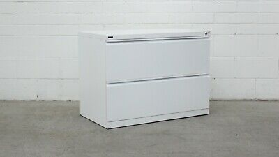 Office/Home Schiavello 2 Door Lateral Filing Cabinet White Metal 40408