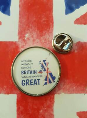 british Independence Day 31st Jan 2020 brexit GREAT BRITAIN 25mm large BADGE
