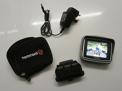 TomTom Rider 2nd Edition Western Europe (+ UK) Sat Nav Bundle - Used