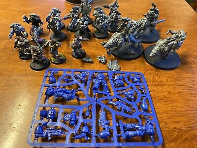 Space Wolf / Spacewolves small army for sale cheaper than retail