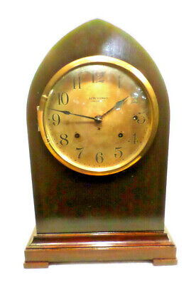 """18 1/2"""" Seth Thomas Sonora Chime Bee Hive Clock--Chimes On Bells"""