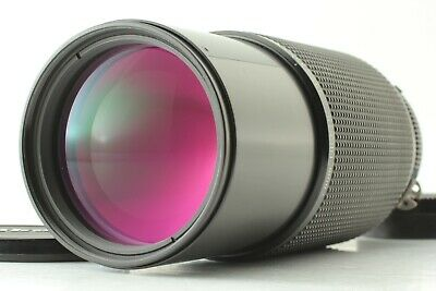 [MINT] Nikon Zoom NIKKOR 80-200mm f/4 MF Ai-S Tele Zoom Lens Works Well from JP