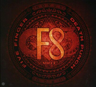 Five Finger Death Punch - F8 (NEW CD) (Preorder 28th February) 5FDP