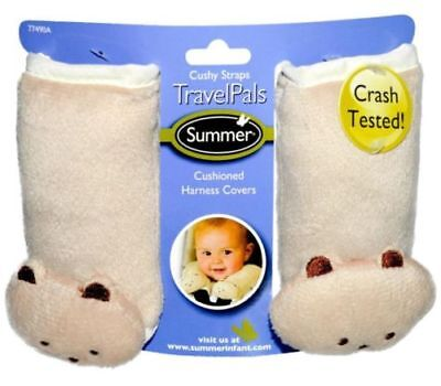 Summer Infant Travel Pals Cushioned Harness Cover Bear Baby Car Seats Strollers