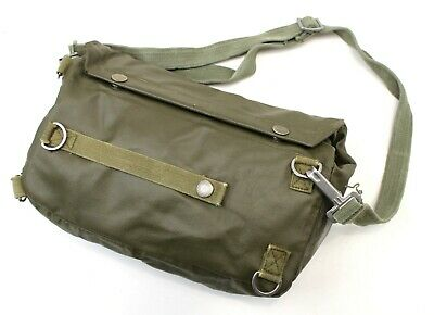 Vintage Swiss Army Shoulder Bag / Gas Mask Bag Sm74