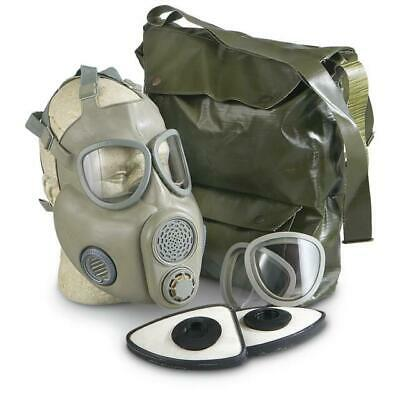 Czech Army M10 Gas Mask Kit & Pvc Bag
