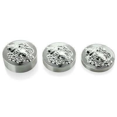 3 x Stacker Round Starter Pack - All 3 Sizes - 10.215 oz Total .999 Silver #A494