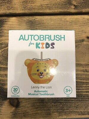 Autobrush For Kids Lenny The Lion Automatic Toothbrush