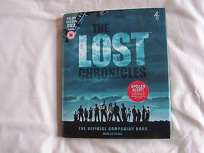 The LOST CHRONICLES The Official Companion Book plus Pilot Episode DVD Mark Vaz