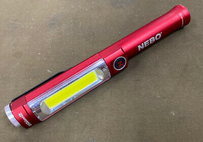 NEBO 6055 Lucy 2 LED Flashlight and Laser Pointer