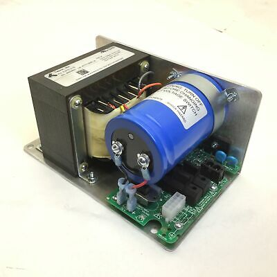 Teknic E3PS12-75 Power Supply, Input: 350VAC, Out: 75VDC Nom 3.5A RMS