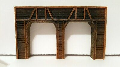 FNA-3604 N SCALE TIMBER SINGLE TUNNEL PORTAL