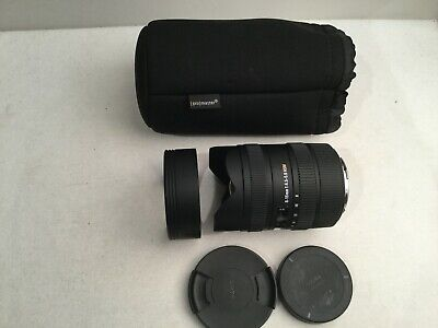 Sigma 8-16mm f/4.5-5.6 HSM FLD DC Super Wide Angle Lens For Canon