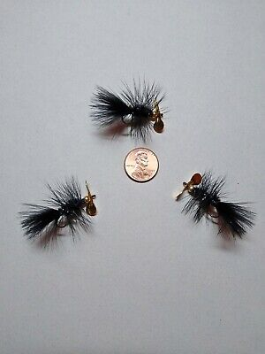 FROG POLLY WOG #6 HOOK BASS FLY FISHING TROUT TOP WATER TADPOLE FLIES 3