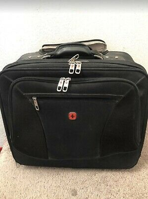 Swiss Gear Rolling Carry-On Computer Laptop Briefcase Wheeled Bag