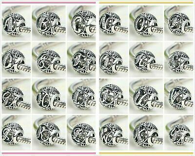 New Authentic Pandora Initial Alphabet Character S925 Letter Charm