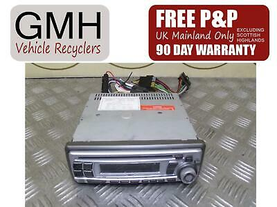 Kia Rio MK1 Radio Cd Player Head Unit Without Code 2000-2005 ~