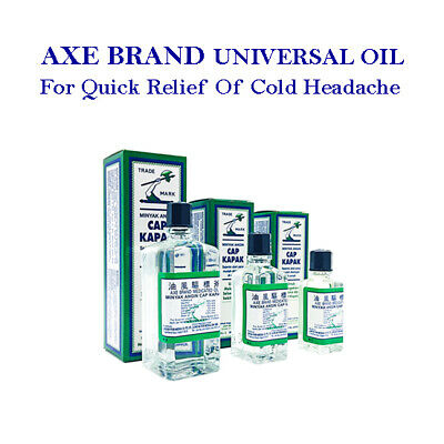 AXE BRAND Universal Oil First Aid Headache Pain Insect Bites