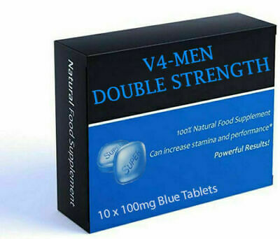 10 (1x10) 100mg Blue Sex Tablets For Men. Strongest Available.