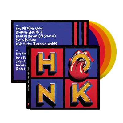 The Rolling Stones - Honk Exclusive Limited Edition Colored 4x Vinyl LP Box Set