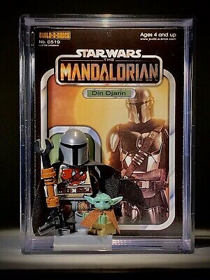 Star Wars MANDALORIAN w/ BABY YODA Custom MINI Action Figure Collector Set