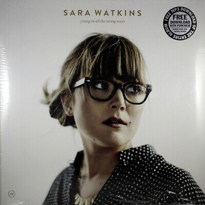 "Sara Watkins Young In All The Wrong Ways NEW Vinyl LP 12"" album 33 rpm Bluegrass"
