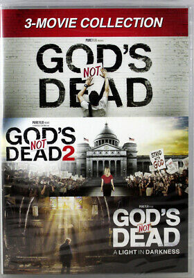 God's Not Dead 3 Movie Collection NEW 3 DVDs All 3 God's Not Dead Movies