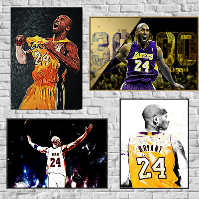 Kobe Bryant Poster Basketball Modern Simple Living Room Decoration Painting