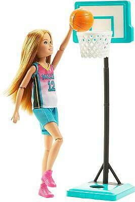 Barbie Dreamhouse Adventure Stacie Basketball Doll NEW