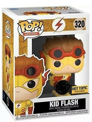 Funko Pop DC KID FLASH HOT TOPIC Exclusive Preorder