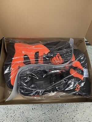 Shot Motocross X11 Boots Orange And Black. Size 9 43