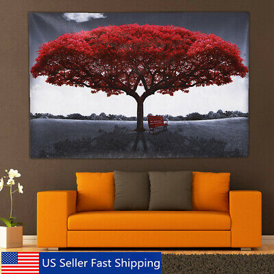 Love Tree Canvas Print Painting Picture Large Art Wall Home Decor Unframed USA
