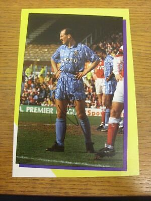 1993-1996 Football Autograph: Coventry City - David Rennie [Hand Signed, Colour,