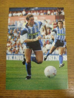 1990-1993 Football Autograph: Coventry City - Kevin Gallacher [Hand Signed, Colo