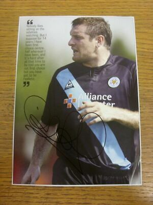 1998-2004 Football Autograph: Leicester City - Gerry Taggart [Hand Signed, Colou