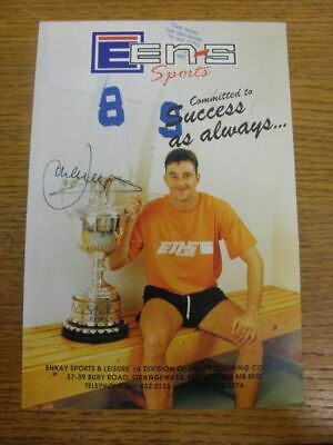 1991-1998 Football Autograph: Tranmere Rovers - John Aldridge [Hand Signed, Colo