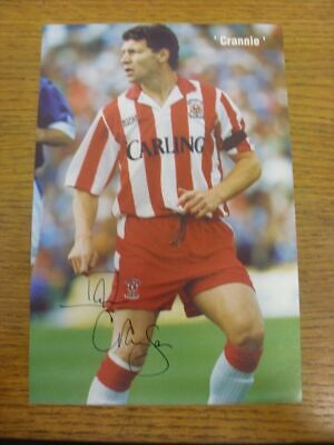 1989-1996 Football Autograph: Stoke City - Ian Cranson [Hand Signed, Colour, Mag