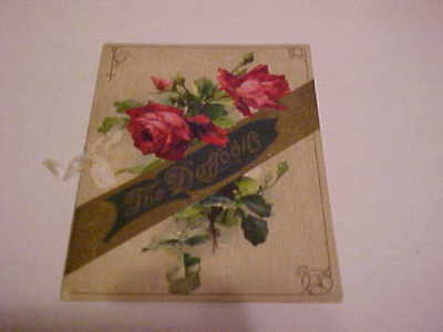 "Ca 1912 Greeting Card Flanagan Usa/Germany ""The Daffodils By William Wadsworth"