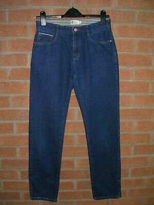 MINI BODEN Boys Immaculate Blue Denim Jeans Age 14 Long Adjustable Waist