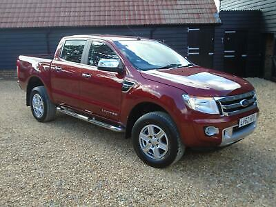 2012 Ford Ranger 3.2 TDCi Limited Double Cab Pickup 4x4 4dr EU5 Pickup Diesel