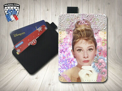 petit porte cartes card holder - audrey hepburn 01