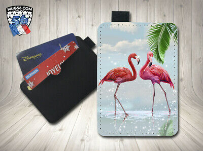 petit porte cartes card holder - flamant rose 01