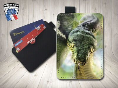petit porte cartes card holder - serpent reptile 01